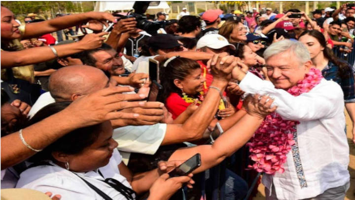 El presidente de México iniciará recorridos por el territorio nacional