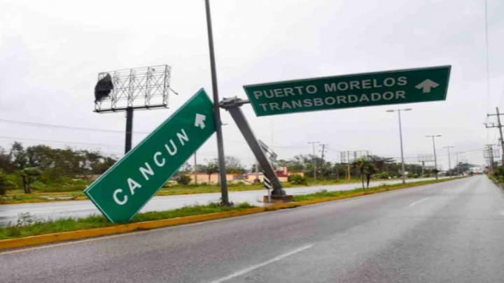 """""""Delta"""" no hirió a nadie al pasar por Quintana Roo"""