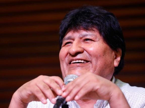 Evo Morales considera poco el tiempo para volver a Bolivia
