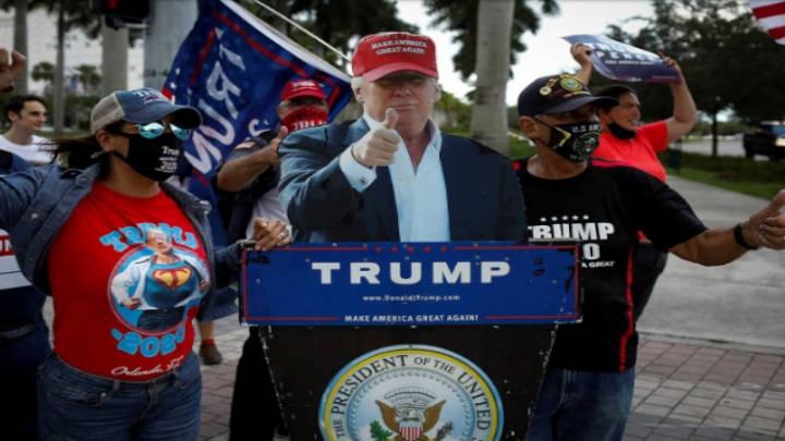 Trump tras un frenético triunfo en tres estados casi perdidos
