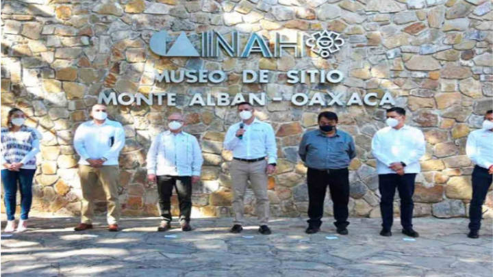 La zona arqueológica de Monte Alban abrirá con entrada controlada