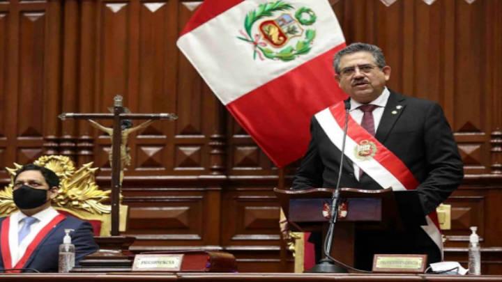 Manuel Merino se apoyará con tecnócratas para dirigir al país