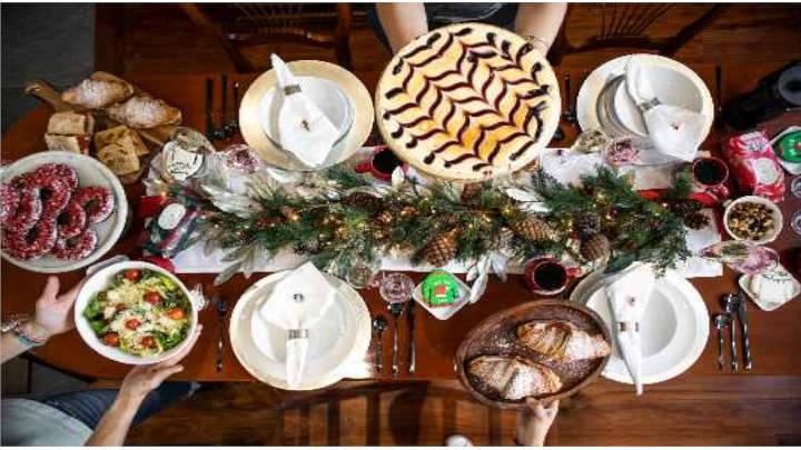 Diciembre, una cena perfecta, fácil, rápida y con mucho brillo