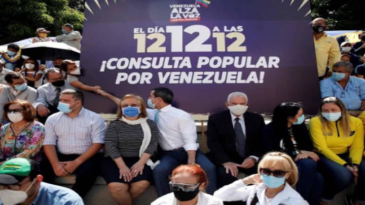 La oposición venezolana muestra su rechazo con consulta antichavista