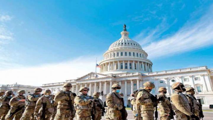 Mañana, Estados Unidos recibe su presidente número 46, con un gran despliegue militar