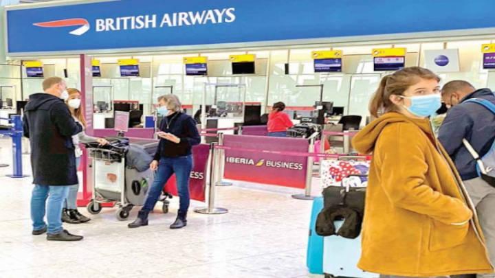 Reino Unido prohíbe vuelos desde Sudamérica
