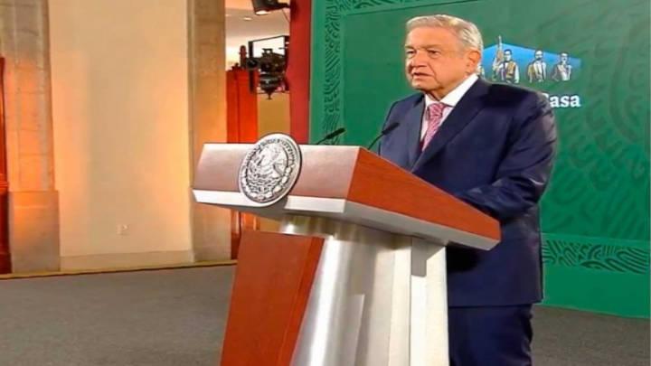 López Obrador nuevamente se dirigio al pueblo, agradeciendo su apoyo y manifestaciones de estímulo para que se diera su recuperación
