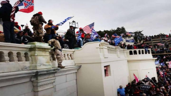 Continua lo del asalto al Capitolio, visto por el FBI