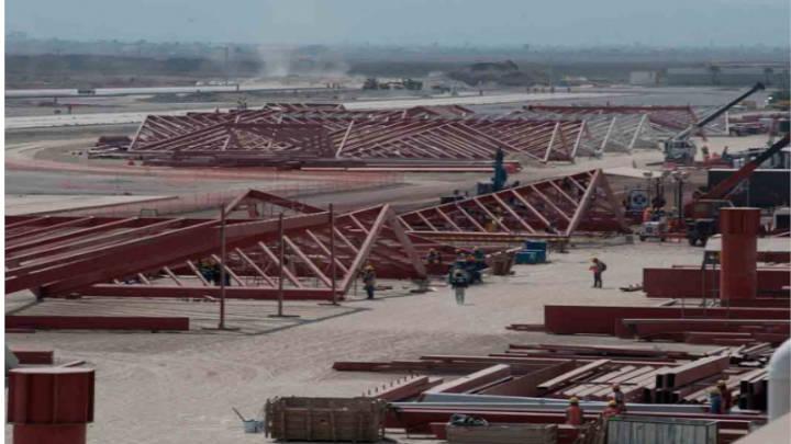 Avanza la construcción del aeropuerto Felipe Ángeles